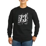 Flag No. 73 Long Sleeve Dark T-Shirt