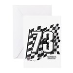 Flag No. 73 Greeting Cards (Pk of 10)