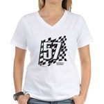 Flag No. 57 Women's V-Neck T-Shirt