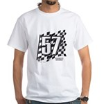 Flag No. 57 White T-Shirt