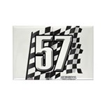 Flag No. 57 Rectangle Magnet (100 pack)