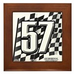 Flag No. 57 Framed Tile