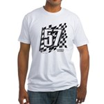 Flag No. 57 Fitted T-Shirt