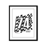 Flag No. 74 Framed Panel Print