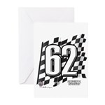 Flag No. 62 Greeting Cards (Pk of 10)