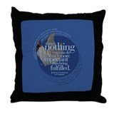 Being Fulfilled Throw Pillow