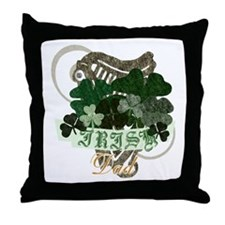 Irish Dad Throw Pillow