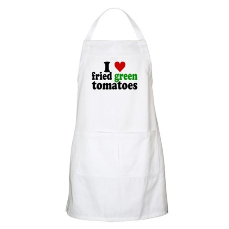 I Heart Fried Green Tomatoes Apron