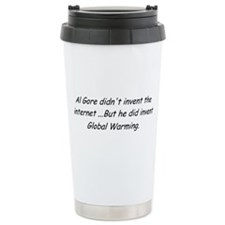 Al Gore Global Warming Ceramic Travel Mug