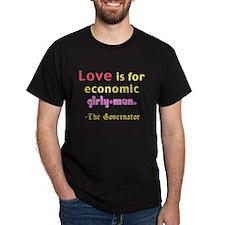 Love the Governator Black T-Shirt
