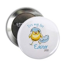 "It's My First Easter '10 2.25"" Button (10 pack)"