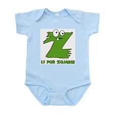 Z is For Zombie Infant Bodysuit