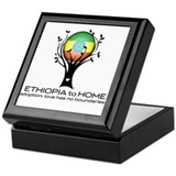 Ethiopia to Home Keepsake Box