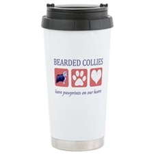 Bearded Collie Lover Gifts Travel Mug