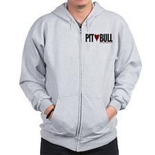 Pit (Love) Bull - Zip Hoodie