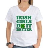 Funny Kiss me i'm irish Shirt