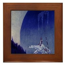 East o the Sun West o the Moon Framed Tile