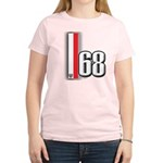 68 Red White Women's Light T-Shirt