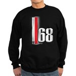 68 Red White Sweatshirt (dark)