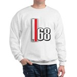 68 Red White Sweatshirt