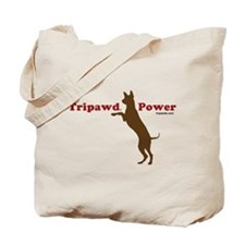 Tripawd Power Tote Bag