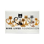 NLF Logo Rectangle Magnet