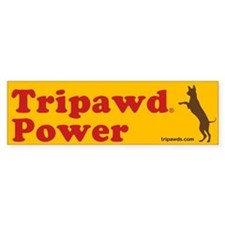 Tripawd Power Bumper Sticker