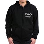 Mustang 1965 Zip Hoodie (dark)