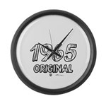 Mustang 1965 Large Wall Clock