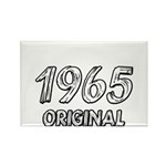 Mustang 1965 Rectangle Magnet (100 pack)