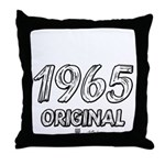 Mustang 1965 Throw Pillow