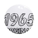 Mustang 1965 Ornament (Round)