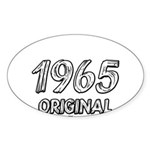 Mustang 1965 Sticker (Oval)