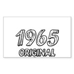 Mustang 1965 Sticker (Rectangle)