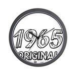 Mustang 1965 Wall Clock