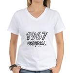 Mustang 1967 Women's V-Neck T-Shirt