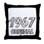 Mustang 1967 Throw Pillow