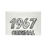 Mustang 1967 Rectangle Magnet (100 pack)