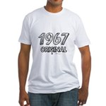 Mustang 1967 Fitted T-Shirt