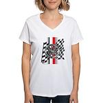 Street Racer MAGG Women's V-Neck T-Shirt