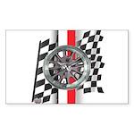 Street Racer MAGG Sticker (Rectangle 50 pk)