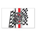 Street Racer MAGG Sticker (Rectangle 10 pk)