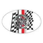 Street Racer MAGG Sticker (Oval 50 pk)