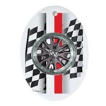 Street Racer MAGG Ornament (Oval)