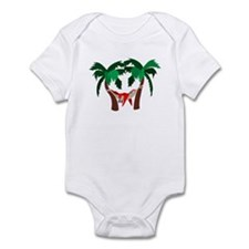 Macaw in Palms Infant Bodysuit