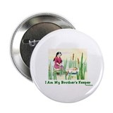 "My Brother's Keeper Passover 2.25"" Button"