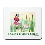 My Brother's Keeper Passover Mousepad