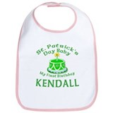 Personalized for Kendall Bib