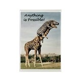 Anything is possible Rectangle Magnet
