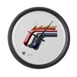 Mustang Horse Large Wall Clock
